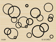 Interlocking Circle Background - 512H
