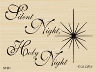 Silent Night with Jesus Star - 519H