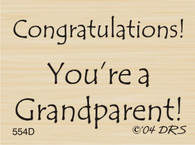 Grandparent Congratulations - 554D