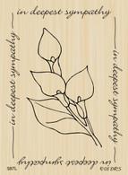 Calla Lily Sympathy Frame - 587L