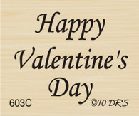 Small Valentines Day Greeting - 603C