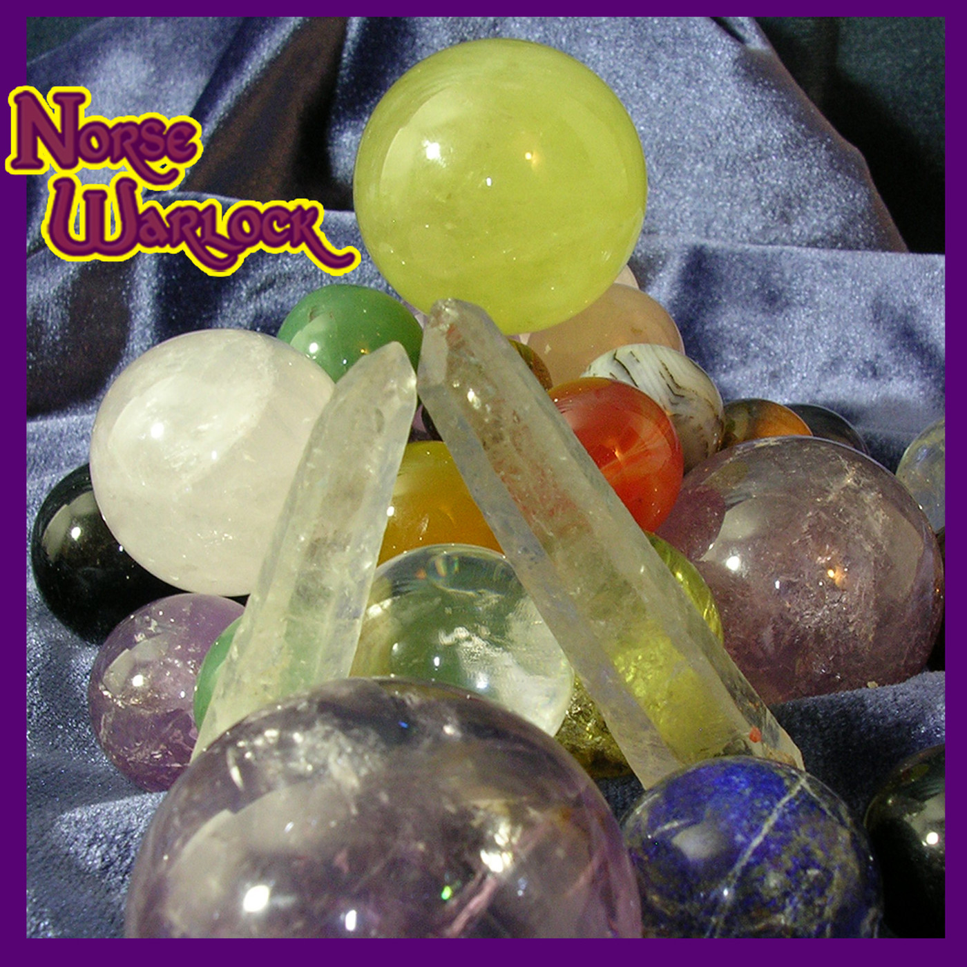 Magic Magick Gemstone Spheres Orbs Metaphysical Paranormal
