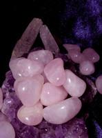 3 Metaphysical Pink Rose Quartz for Emotional Healing Energies!