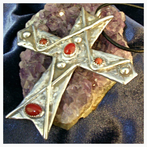 Magick Brotherhood Cross of Protection Cloaks from Evil & Dark Spirits!