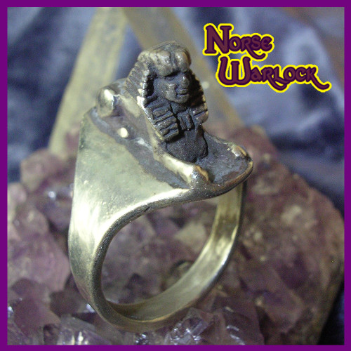 Secrets of The Sphynx Ring for Seekers of Wealth & Enlightenment!