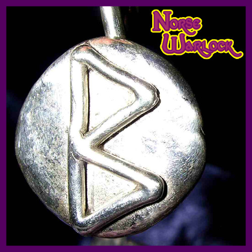 Berkano Rune Pendant for Renewal, Mental & Personal Growth!