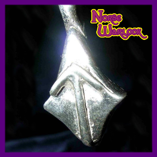 Tiwaz, The Warrior Rune Pendant! Courage Skill Knowledge Victory!