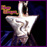 Rule of Three Metaphysical Silver Pendant Draws All Good Things X 3! Prosperity Peace Protection