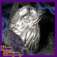 Eagle Eye of Omnipotence Ring for Seekers of Wisdom, Wealth & Enlightenment! metaphysical 384a