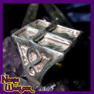Magick Illuminati Infinite Powers of The Cross Ring! Ultimate Wealth Protection & Respect!