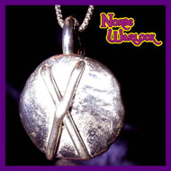 Gebo Rune Pendant! Friendship, Gifts and Connection to The Gods! Metaphysical Magick Viking