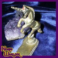Young Unicorn Princess Twinkle Seeks First Mortal Companion! haunted spirit statue