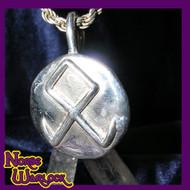 Othala, Odin's Rune! Spiritual Inheritance! Pendant of  Abundance & Prosperity! Viking