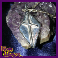 Naudhiz Rune Pendant! Overcome All Obstacles! Success! Enlightenment! Viking Metaphysical