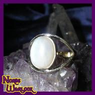 Psychic Healing Ring Radiates White Magick Energy & Draws Bright Blessings!