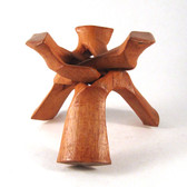 "Wooden Tripod Stand, 6"" - WTS002"