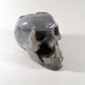 Agate Druzy Skull - MSKU006