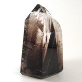 Quartz Point with Dark Smoky Phantoms - MQTZ189