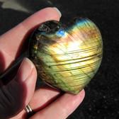 Labradorite Heart - GLABH013