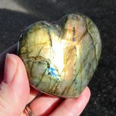 Labradorite Heart - GLABH016