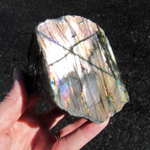 Labradorite 1 Side Polished Freeform - MLABFF026
