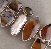 Agate Multi Gemstone Bracelet - Regular $398.00