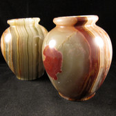 Banded Onyx Vase, 1 (one) piece