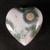 Ocean Jasper Heart - GOJH051