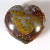 Ocean Jasper Heart - GOJH050