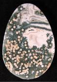 Ocean Jasper Egg-shaped Medallion - MOJMED052 - Regularly $36.00