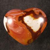 Polychrome Jasper Heart - GPOLYH017 - Regularly $34.00