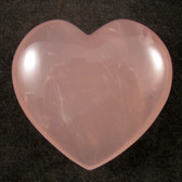 Rose Quartz Heart - GROQH011