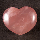 Rose Quartz Heart - GROQH010