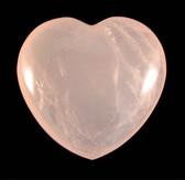 Rose Quartz Heart - GRQH007