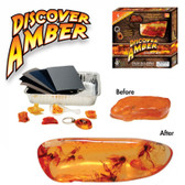 Dr. Cool Science DISCOVER AMBER SCIENCE KIT with Scorpion Keychain - Regularly $29.95