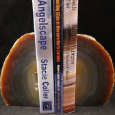 Agate Geode Bookends - GBKND004