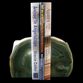 Agate Geode Bookends - GBKND003
