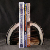 Agate Geode Bookends - GBKND001
