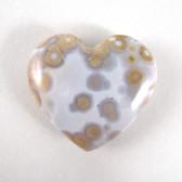 Ocean Jasper Heart - GOJH064
