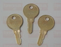A & J 250 Dispenser Key (3-Pack)