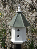 Estate Birdhouse-Patina Roof