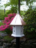 Haven birdhouse-copper roof