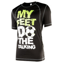 My Feet Do The Talking Men's Performance Shirt - Front