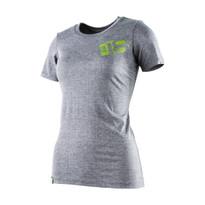 The18's WomenÌ´Ì_'s Classic T-Shirt in Gray.