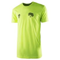 The18's MenÌ´Ì_'s Soccer StepsÌ´Ì_Ì´å T-Shirt in Yellow.