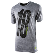 The18's The18 Large Logo T-Shirt in Grey.
