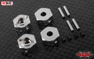 RC4WD 12mm Axle Wheel Hexes x 4 2 way mount HEX inc pins RC4WD Z-S0238 G2 TF2 RC