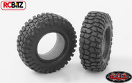 Rock Crusher Micro Crawler Tires 18th Scale D90 Gelande +Foam RC4WD Z-T0027 Tyre