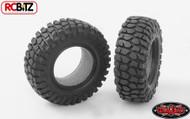 Rock Crusher Micro Crawler Tires 18th Scale D90 Gelande +Foam RC4WD Z-T0027 Tyre