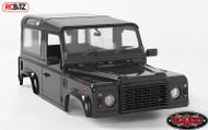 RC4WD 1/18 Gelande II D90 Body Set BLACK Gelande II Truck Z-B0113 Inc details